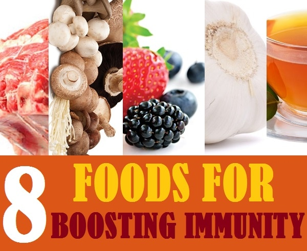 8 foods for boosting immunity