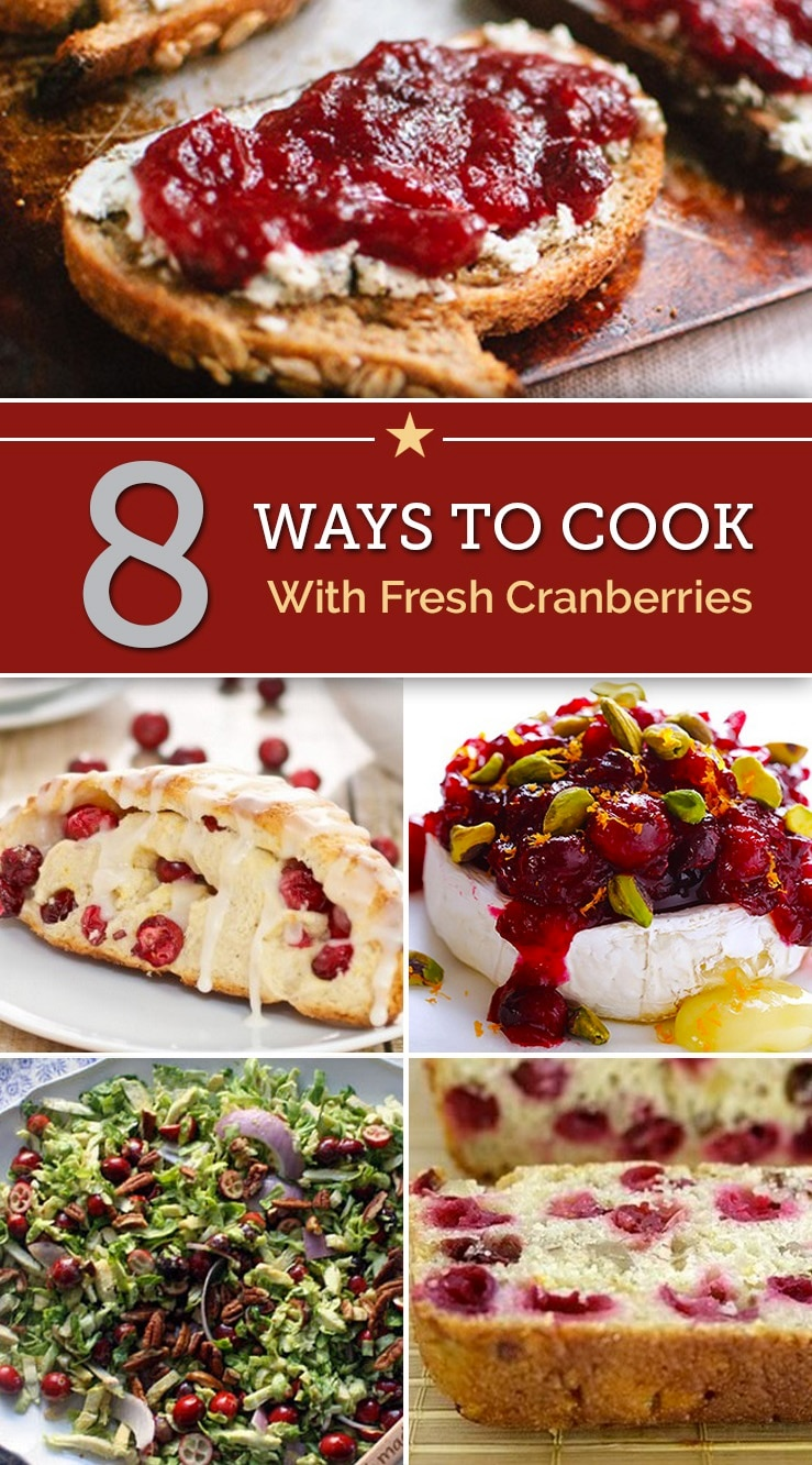 8 ways to cook with fresh cranberries