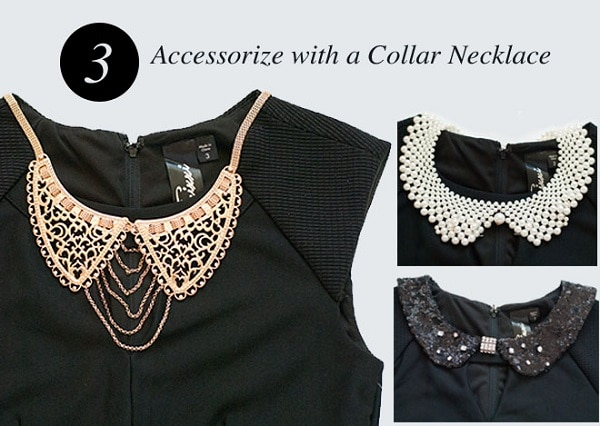 Accessorize With a Collar Necklace