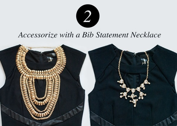 Accessorize with a Bib Statement Necklace