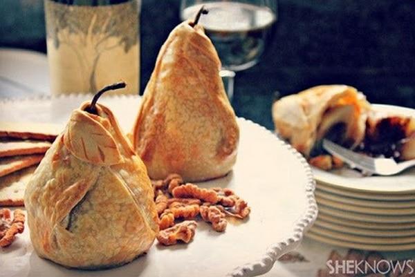 Baked Pear Dumpling