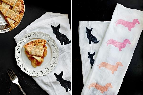 Dog Breed Tea Towel