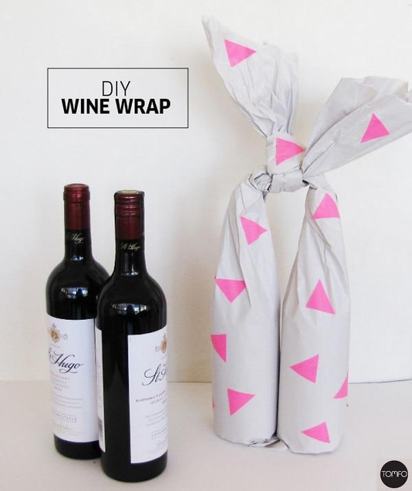 Double Paper Wrap