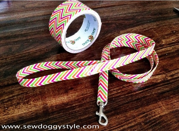 Duct Tape a Dog Leash