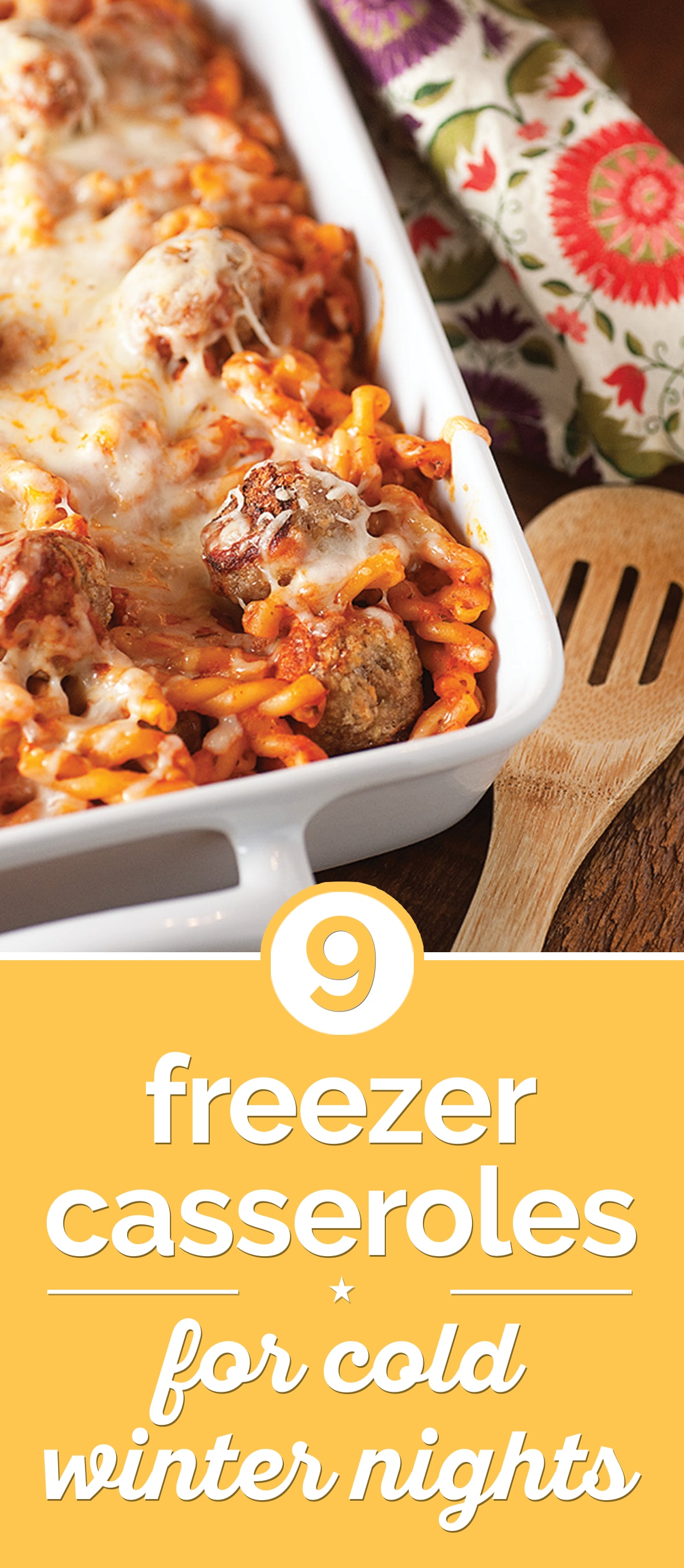 9 Freezer Casseroles for Cold Winter Nights | thegoodstuff