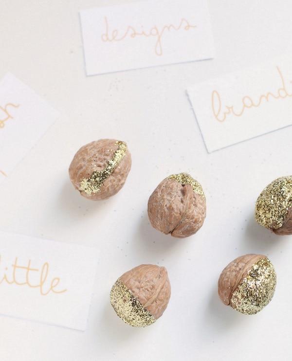 Glitter Walnuts