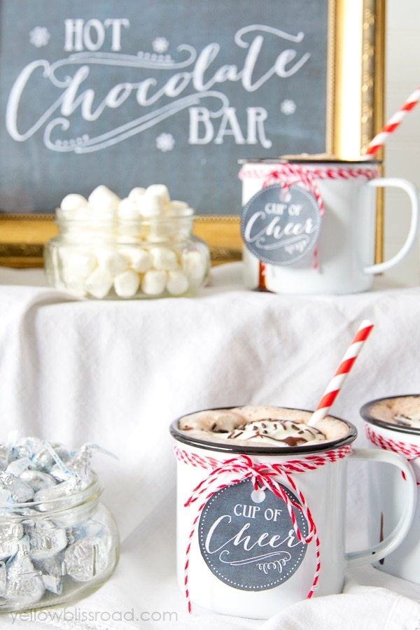 Have Yourself a Hot Chocolate Bar
