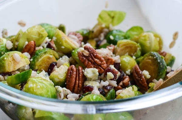 PAN-SEARED-BRUSSELS-SPROUTS-WITH-CRANBERRIES-PECANS