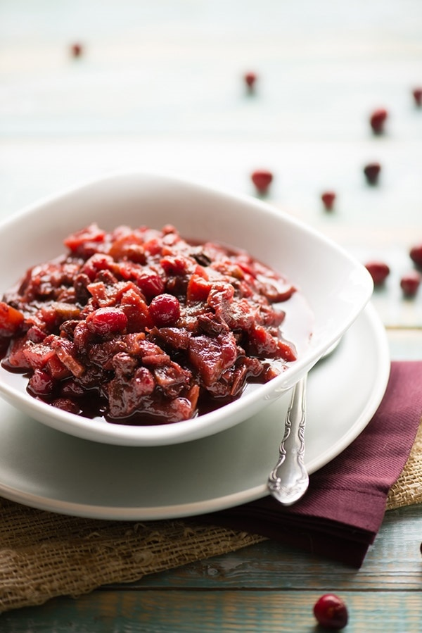 Slow Cooker Cranberry Chutney