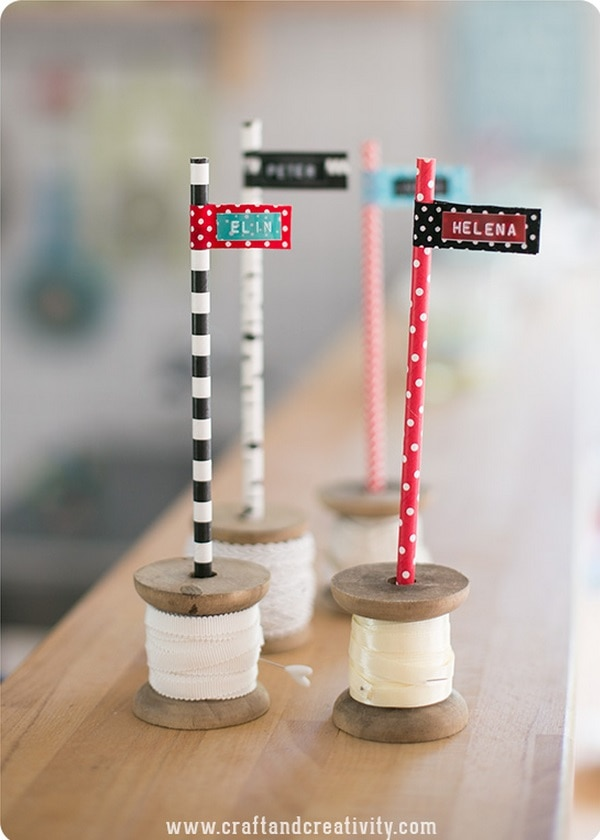 Spools and Straws