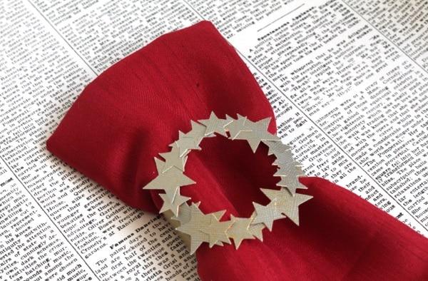 Starry Napkin Wreaths