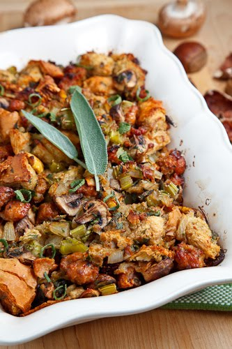 8 Amazing Stuffing Recipes for Thanksgiving | thegoodstuff