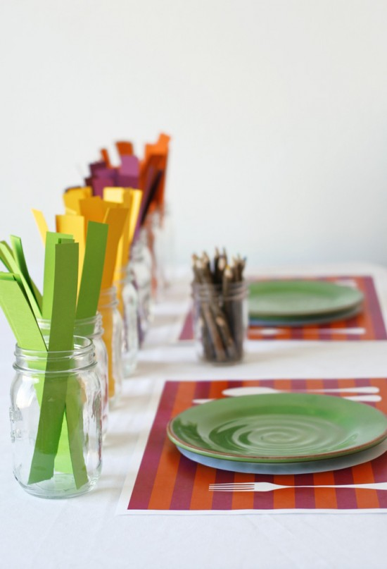 Thanksgiving Table Setting Ideas_27