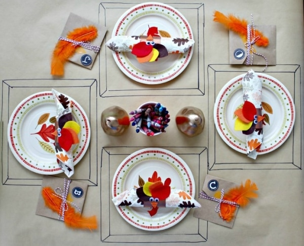 Thanksgiving Table Setting Ideas_30