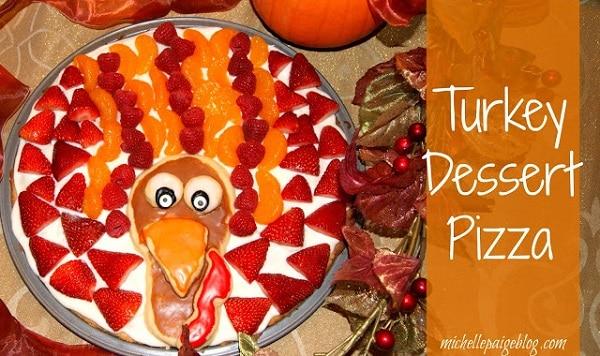 Turkey dessert pizza