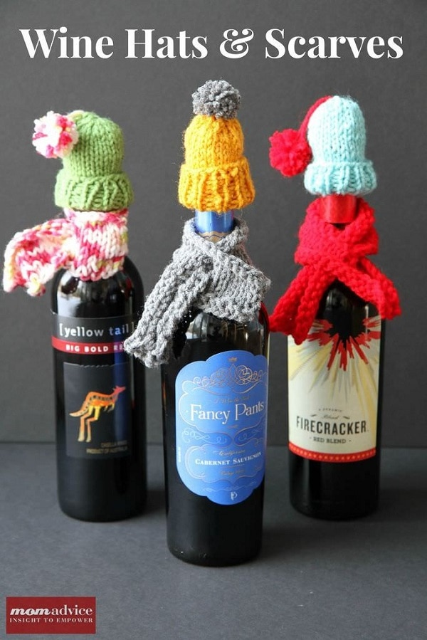 Wine Hats and Scarves