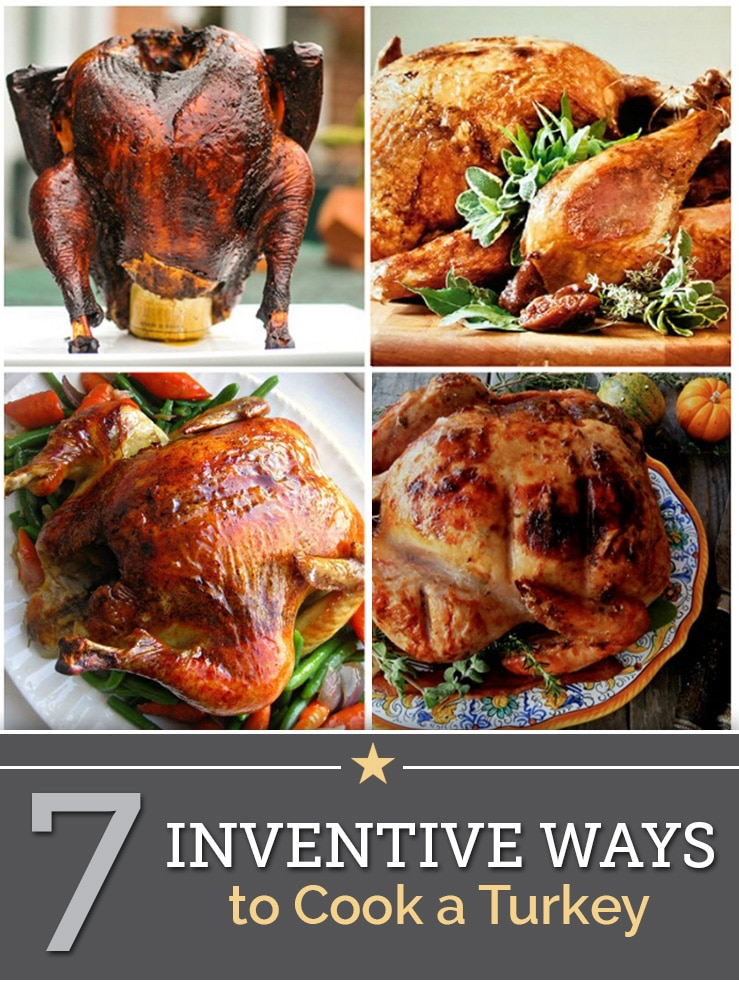 ways to cook a turkey