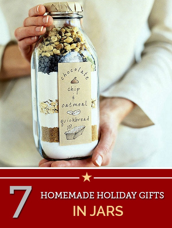 homemade holiday gifts in jars