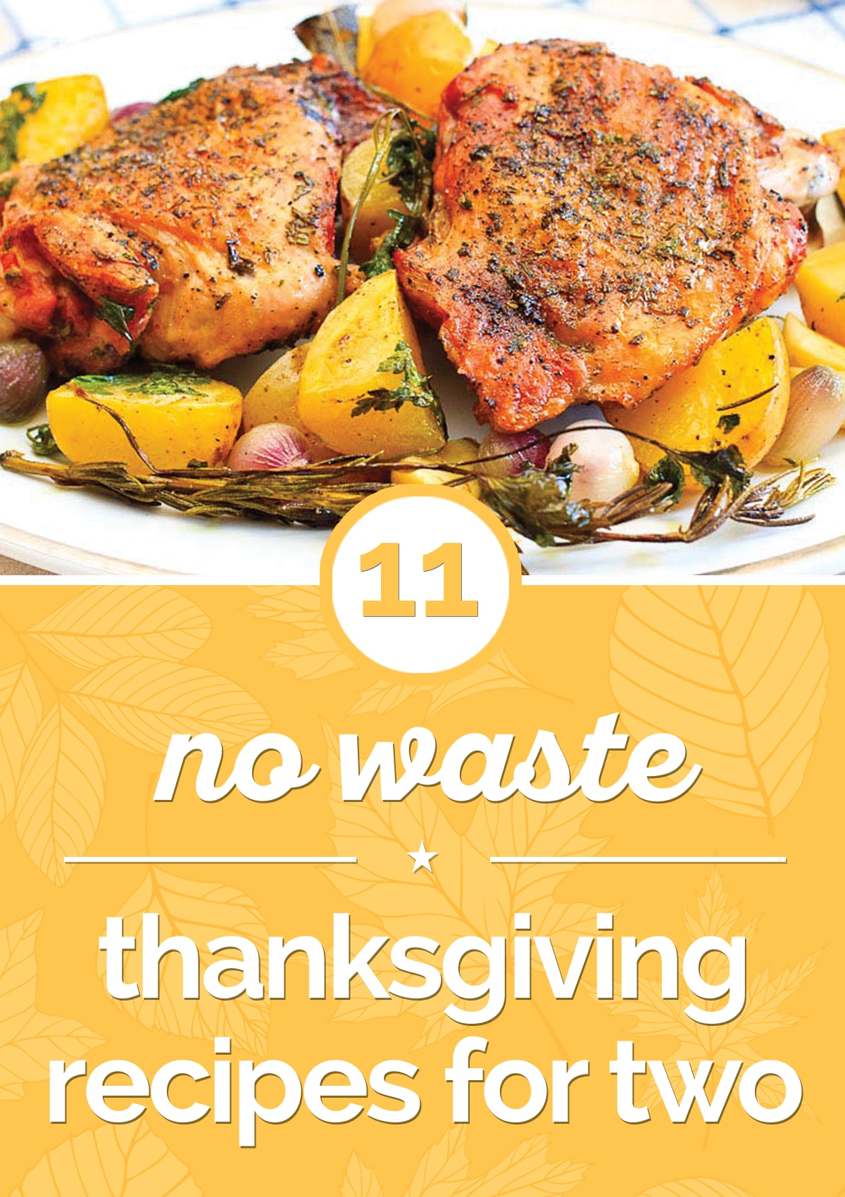 11 No-Waste Thanksgiving Recipes for Two   thegoodstuff