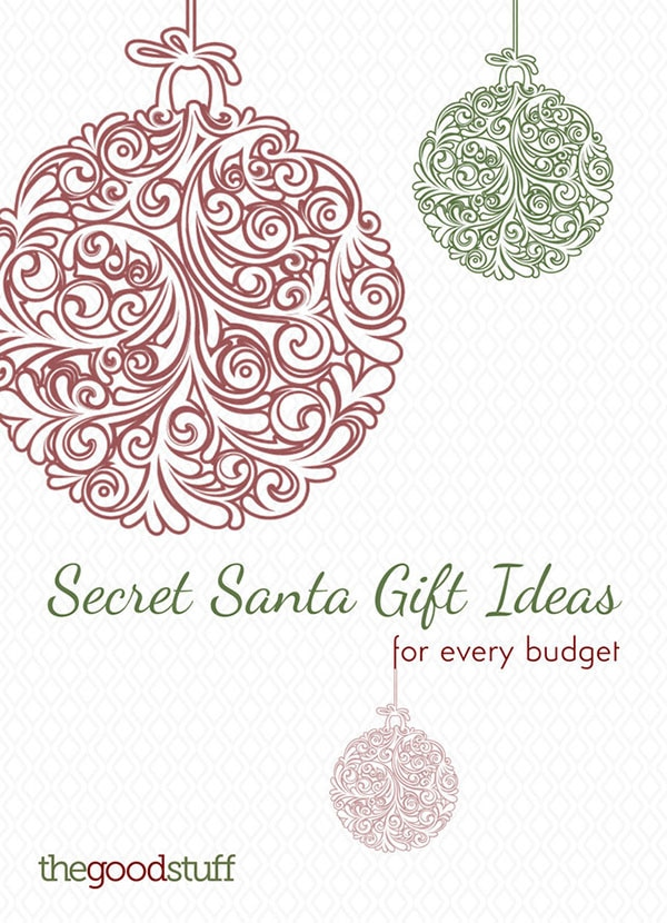 Secret Santa Gift Guide For Every Budget