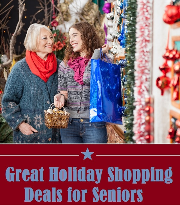 senior holiday shopping deals