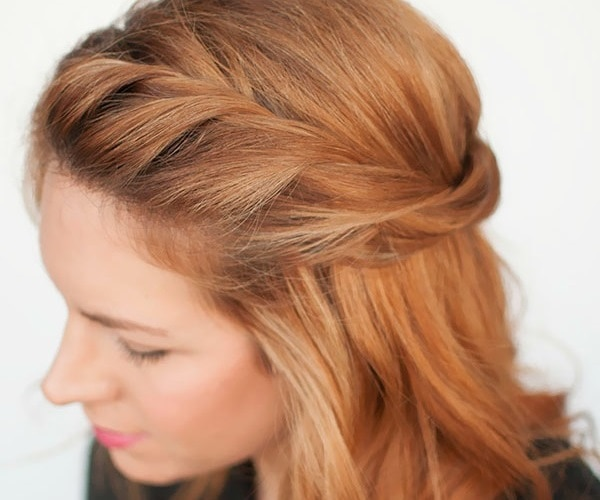 5 Minute Hairstyles For Short Hair: Chic 5-Minute Hairstyles For The Holidays