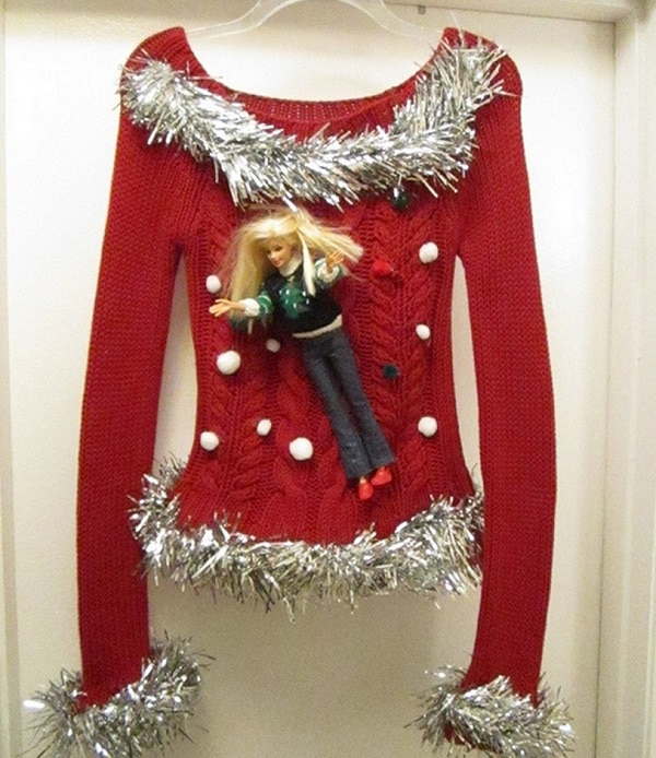 Barbie Ugly Christmas Sweater