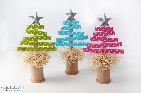 Craft Stick Trees