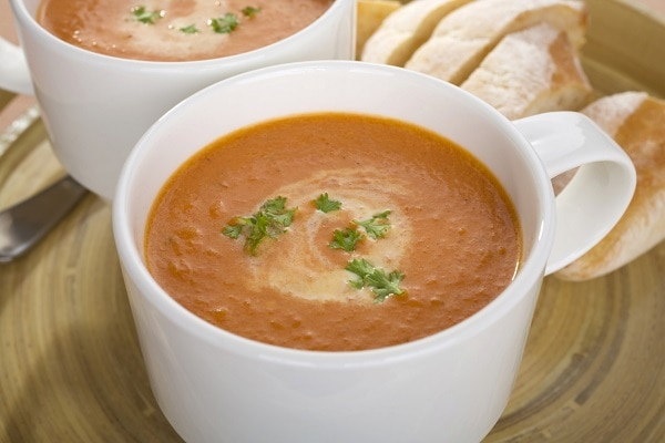 Creamy Sweet Potato Carrot Soup