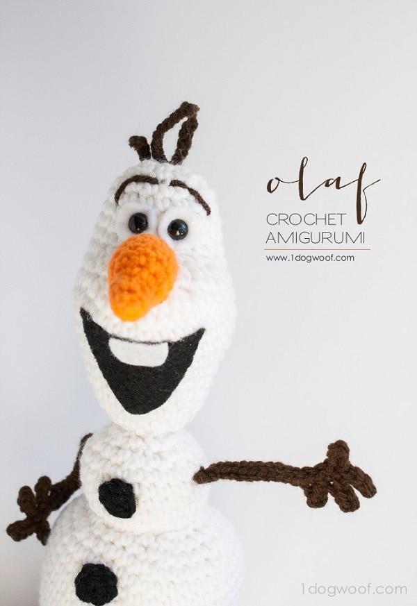 Crochet Olaf