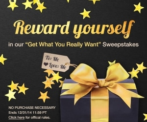 Get What You Really Want Sweepstakes