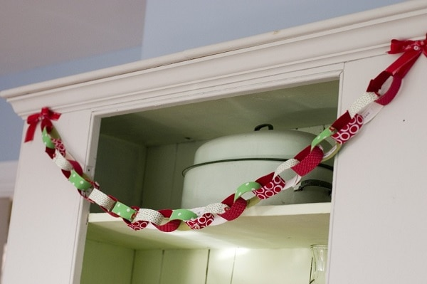 Fabric Paper Chain