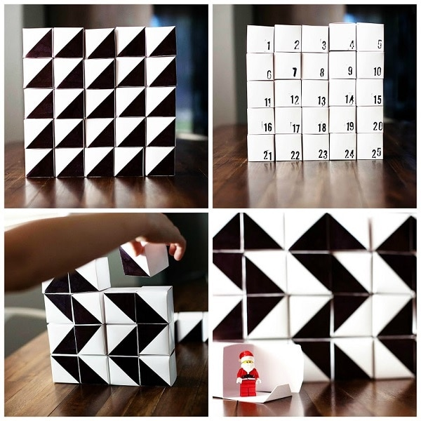 Geometric Calendar Blocks