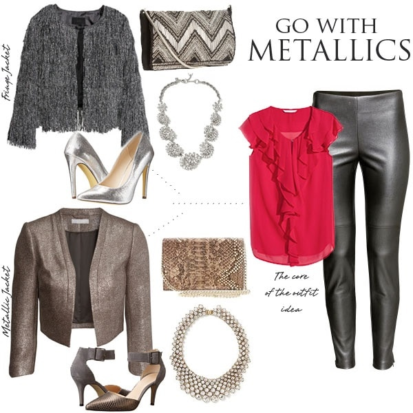 Go with Metallics