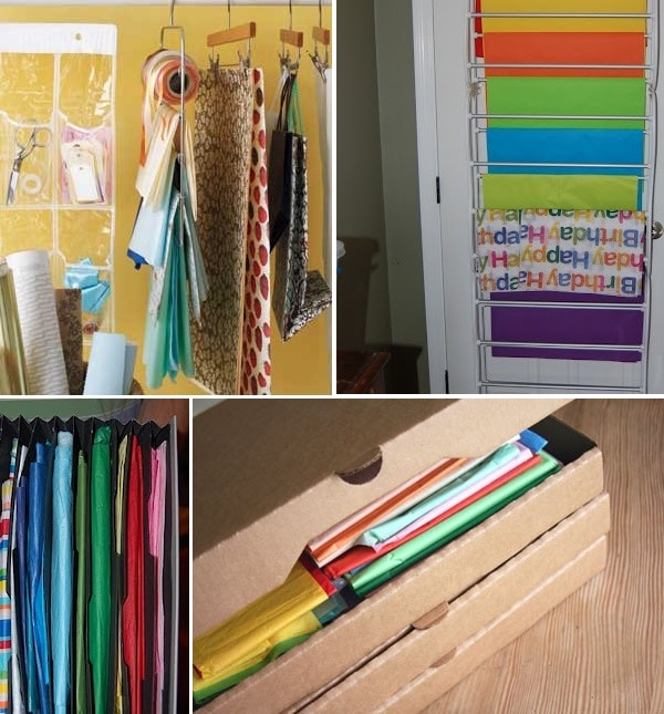 Keep Tissue Paper Tidy