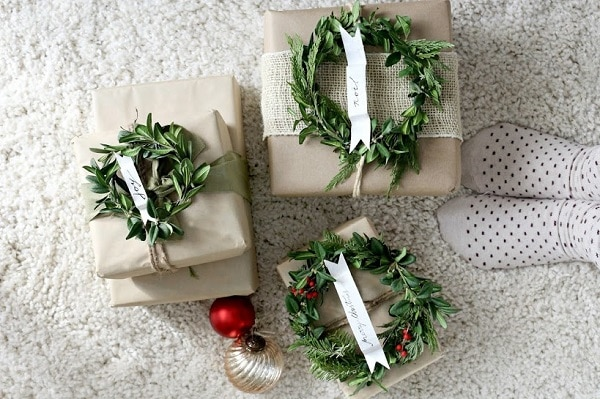 Mini Wreath Wrapping