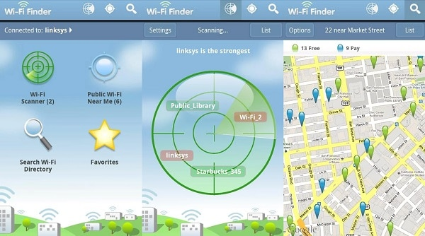 NinthDecimel Wi-Fi Finder
