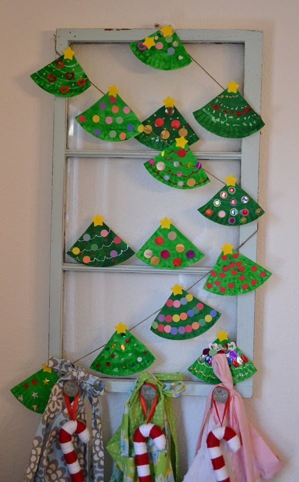 christmas garland crafts