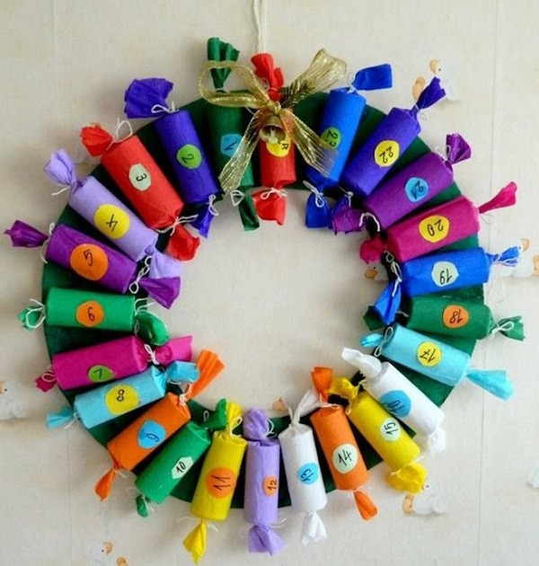 Party Popper Wreath