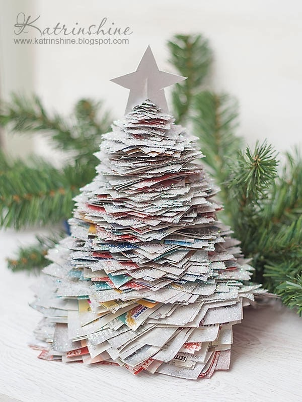Recycled Paper Tree