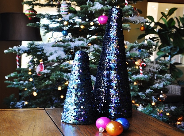 Sequin Trees
