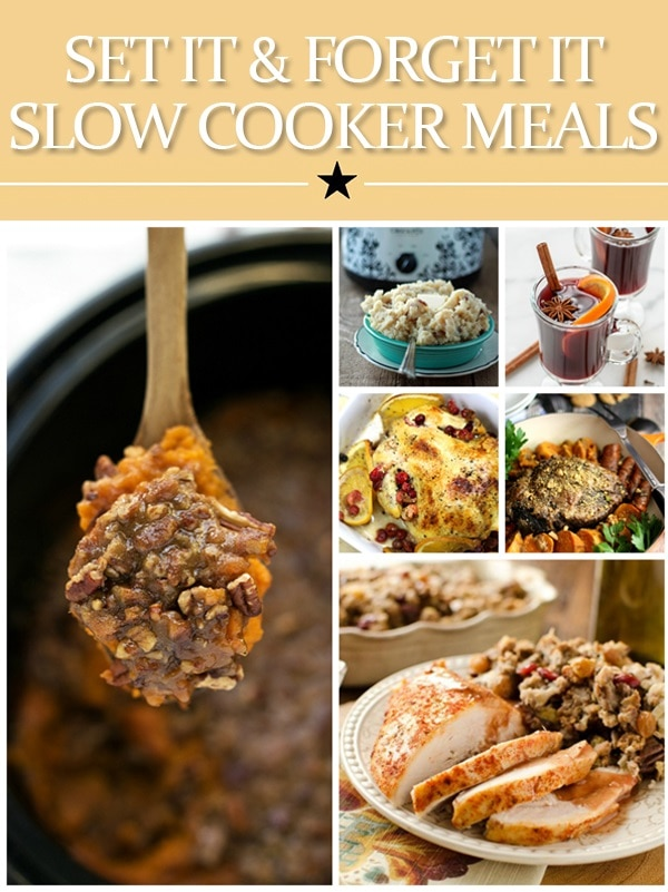 Set It and Forget It Slow Cooker Meals