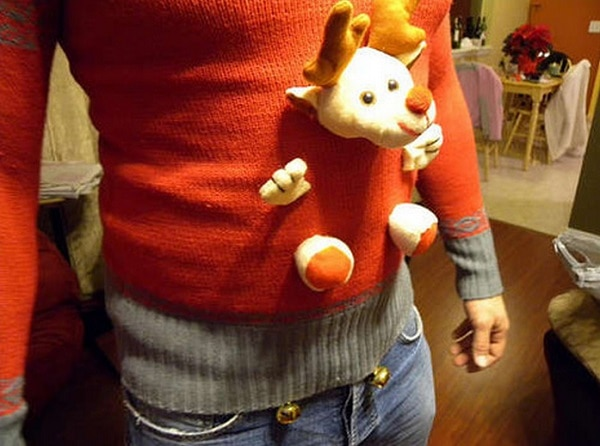 Stuffed Animal Ugly Sweater