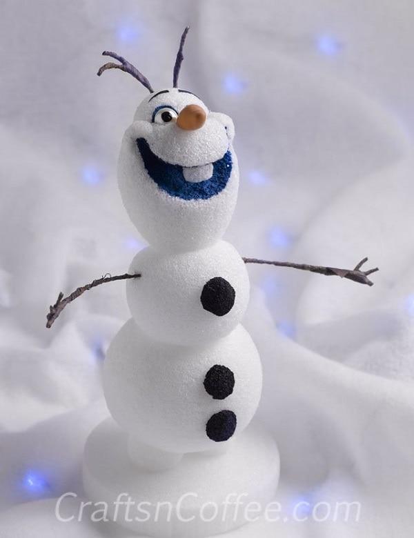 Styrofoam Olaf