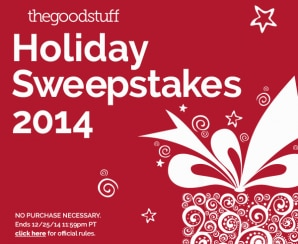 The Good Stuff Holiday Sweepstakes: Top Gift Ideas