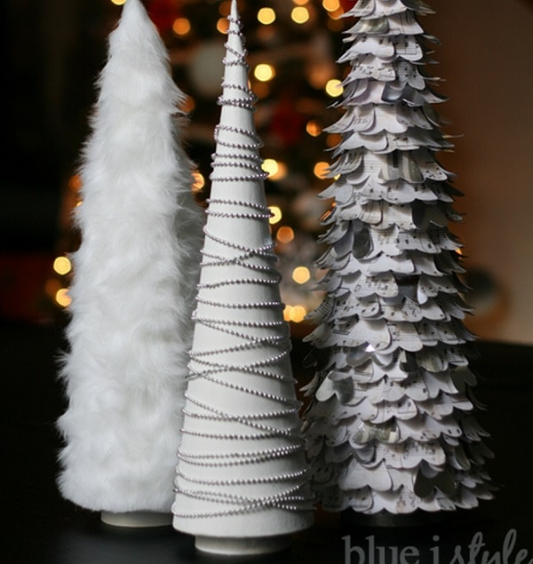 Textured Tree Trio