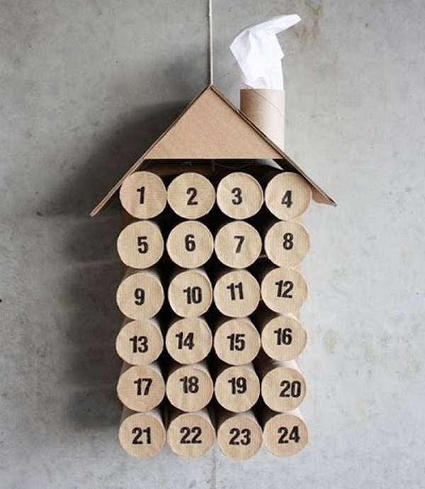 Toilet Paper Roll Calendar