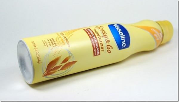 Vaseline Spray & Go Body Moisturizer