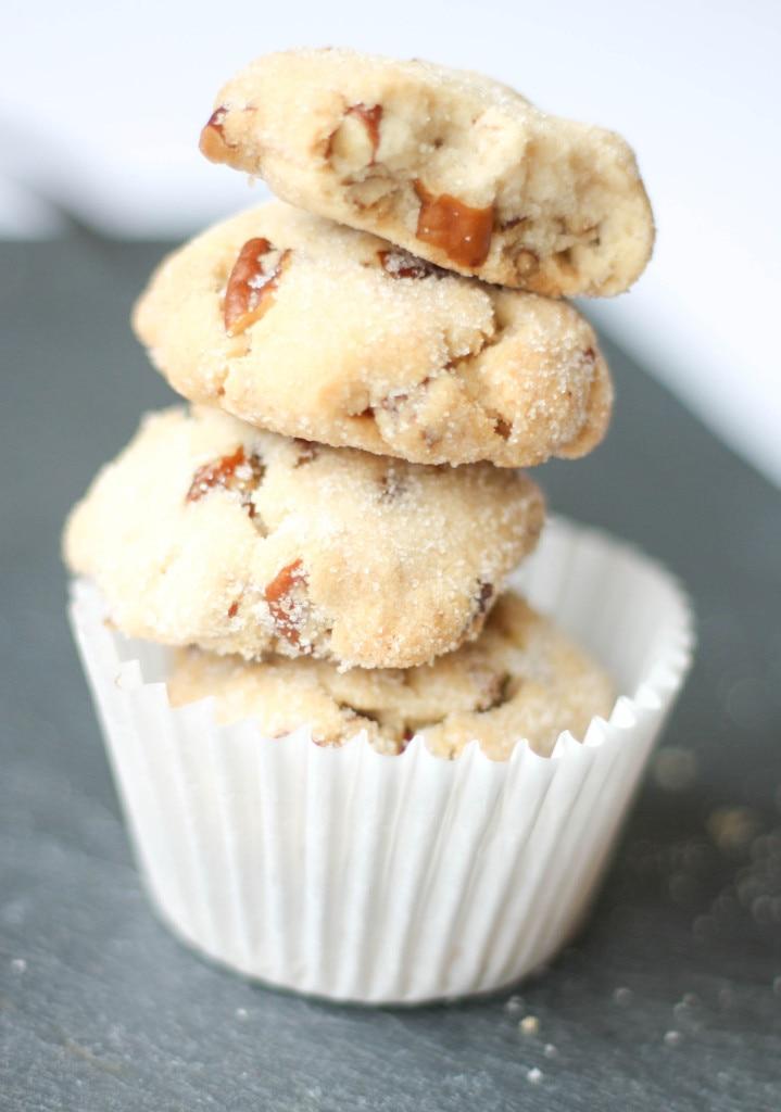Butter Pecan Cookies for Tea Time