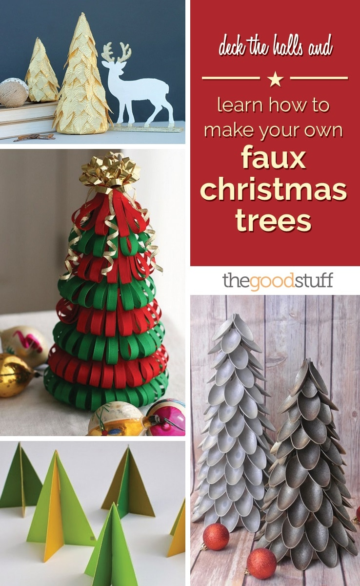 diy-faux-christmas-trees